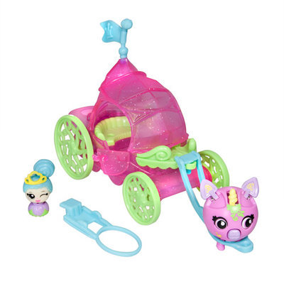 Zoobies Zoobles Princess Carriage Mini Play Set