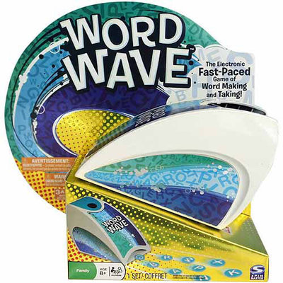 Spin Master Word Wave Electronic Word Game