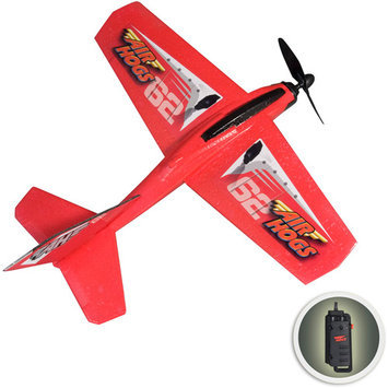 Spin Master Toys Air Hogs Charge & Launch Wind Flyers, Red Redeco
