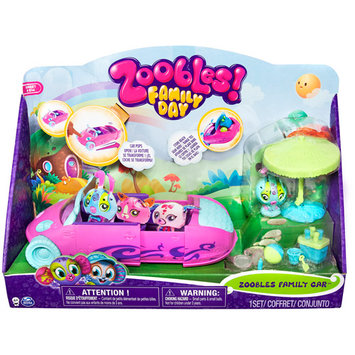 Spin Master Toys Zoobles Family Car Vehicle with Zooble
