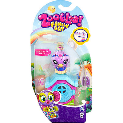Spin Master Zoobles - Single Pack - Family - Bird + Happitat