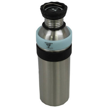 Seattle Sports H2Duo Two-Part Stainless Steel 1L Bottle