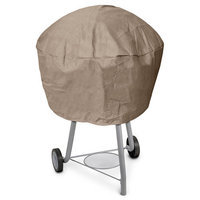 KoverRoos 33059 KoverRoos III Large Kettle Cover Taupe - 36 Dia x 24 H in.