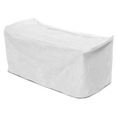 KoverRoos 56555 SupraRoos Cart Cover White - 50 L x 30 W x 33 H in.