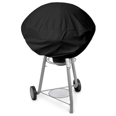 KoverRoos 83052 Weathermax Small Kettle Cover Charcoal - 27 Dia x 23 H in.