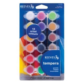 Reeves Artist Tempera Colour Set