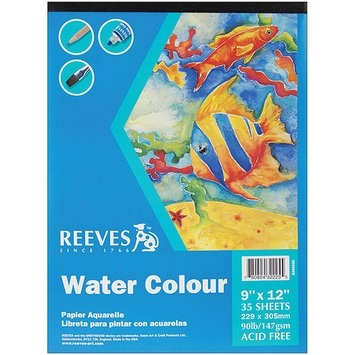 Reeves Water Colour Paper Pad, 9