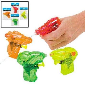 Fun Express Plastic Mini Water Gun Assortment (1 dz)