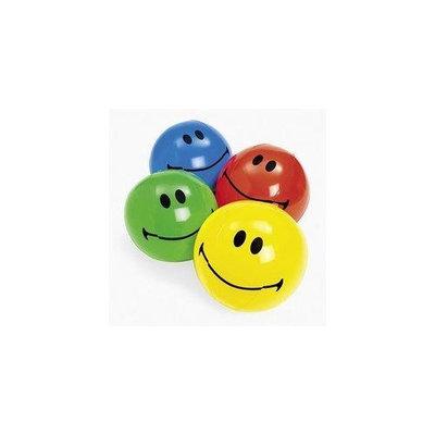 Otc Inflatable Smiley Face Beach Balls (1 dz) Party Favors