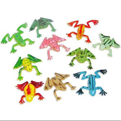 Fun Express Colorful Mini Frogs - Novelty Toys & Character Toys