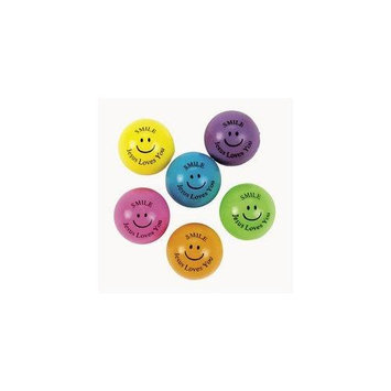 Fun Express Religious Theme Bouncing Balls (4 dz)
