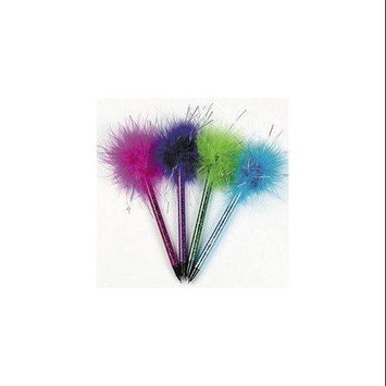 Oriental Trading Company Shimmering Marabou Pens - Stationery & Pens