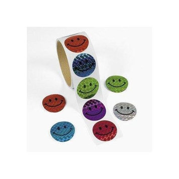Otc Laser Smile Face Stickers - Awards & Incentives & Stickers