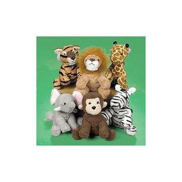 Fun Express Plush Soft Zoo Animals - Novelty Toys & Plush Toys