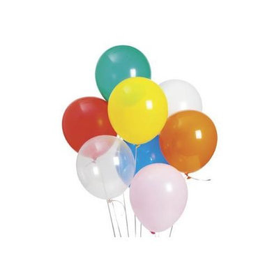 Fun Express Educational Products 11 MEGA BALLOON ASSORTMENT (500 PIECES) - BULK