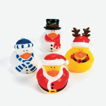 Ddi Christmas Holiday Rubber Ducky - 12 Count