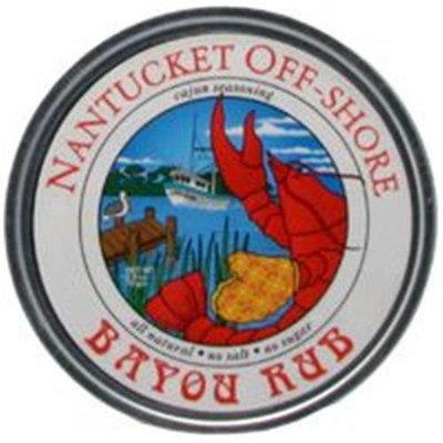 Nantucket Off-Shore - Bayou Rub Cajun Seasoning - 2.5 oz.