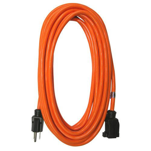 Raptor Tools RAP31601 16/3 Gauge, 50' SJTW Extension Cord