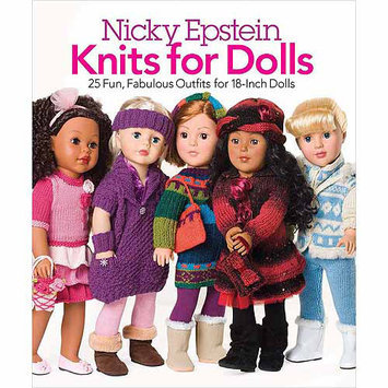 Sterling Publishing Nicky Epstein Books-Knits For Dolls Nicky Epstein