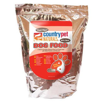 Real Meat Co Real Meat 70610 Beef Dog Food - 10 Pound Bag