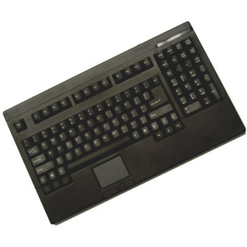 Adesso USB Mini-Keyboard with Touchpad, White ACK-540UW