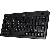 Adesso Wkb-3100ub Mini Trackball Wireless Keyboard (wkb3100ub)
