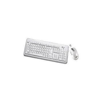 Buslink Media Buslink Keyboard - Wireless - 104 Keys - USB - Mouse - Wireless - Laser - USB RF6572LWH