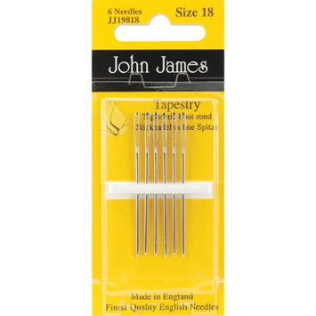 Colonial Needle 72168 Tapestry Hand Needles-Size 18 6-Pkg