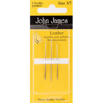Colonial Needle 72179 Leather Hand NeedlesAssorted 3Pkg