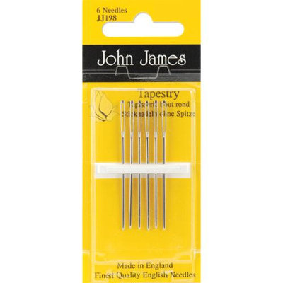 Colonial Needle 73487 Gold Tapestry Hand Needles-Size 20 3-Pkg