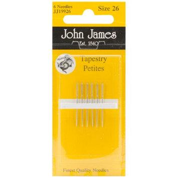 Colonial Needle JJ199-26 Tapestry Petites Hand Needles-Size 26 6-Pkg