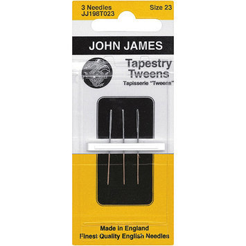 Colonial Needle Tapestry Tweens Hand Needles, Size 23, 3-Pack 073585