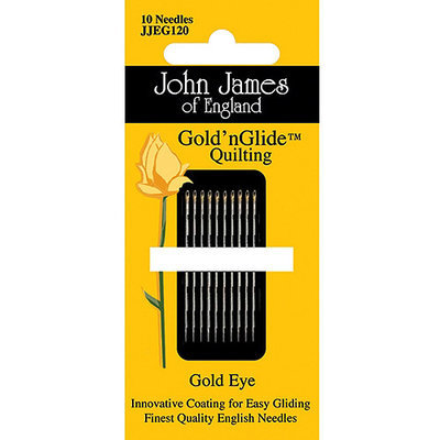Colonial Needle 73778 Goldn Glide Quilting Needles Size 10 10Pkg
