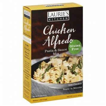 KeHe Distributors 111247 LAURIES KITCHEN MIX PSTA CHCKN ALFREDO - Pack of 6 - 7.2 OZ