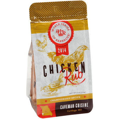 American Royal World Series of Barbecue Championship Recipe Caveman Cuisine Chicken Rub, 6 oz
