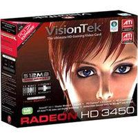 VisionTek - Radeon HD 3450 512MB DDR2 PCI Graphics Card