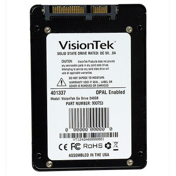 Visiontek Go Drive 240GB 2.5 Internal Solid State Drive - Sata - 550 Mbps Maximum Read Transfer Rate - 520 Mbps Maximum Write Transfer Rate (900753)
