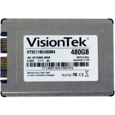 Visiontek Go Drive 480GB 1.8 Internal Solid State Drive - Micro Sata - 540 Mbps Maximum Read Transfer Rate - 460 Mbps Maximum Write Transfer Rate (900757)