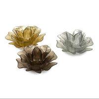 Imax Corporation IMAX 9542-3 Hanna Glass Floral Votives - Set of 3