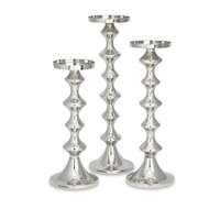 IMAX Corporation 89712-3 Cadide Candleholders - Set of 3