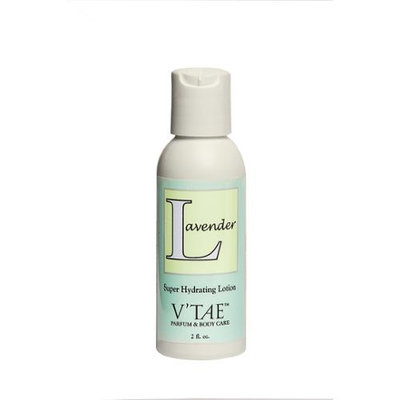 Lavender Super Hydrating Lotion V'TAE Parfum and Body Care 2 oz Liquid