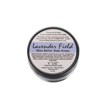 Lavender Field Shea Butter Body Creme V'TAE Parfum and Body Care 2 oz Cream