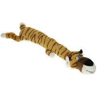 Multipet Dawdler Dudes Tiger Plush Dog Toy