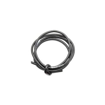 Associated 647 Pro Silicone Wire 12AWG Black 1m
