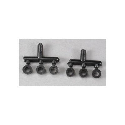 Associated Electrics, Inc. 6466 Rear Shock Downstops (6) ASCC2566