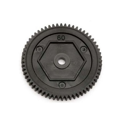 21323 Spur Gear 60T RC18T2/B2 ASCC1323 ASSOCIATED ELECTRICS