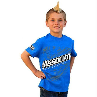 Associated SP32S AE Kids T-Shirt Blue Small