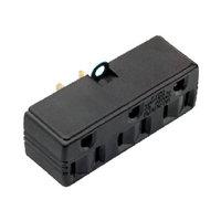 Pass & Seymour #1219CC10 15A BRN TPL Adapter