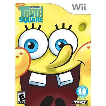 THQ SpongeBob: Truth or Square - Action/Adventure Game Retail - Wii
