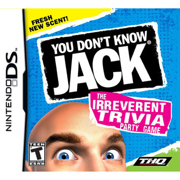 Misc You Don't Know Jack Nintendo DS Game THQ